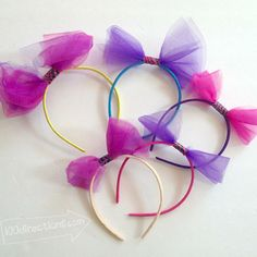 DIY Headbands Quick Craft for Dress Up Party Favors