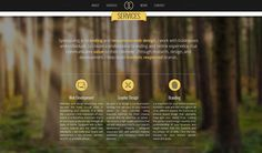 Use of Blur Backgrounds in Website Design: Beautiful examples