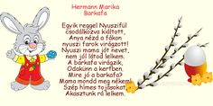 Húsvéti versike  :) Poems, Education, Children, School, Quotes, Easter Activities, Young Children, Quotations, Boys