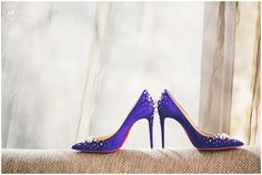 Crest Hollow Country Club Wedding, Victorious Events, Christian Louboutin