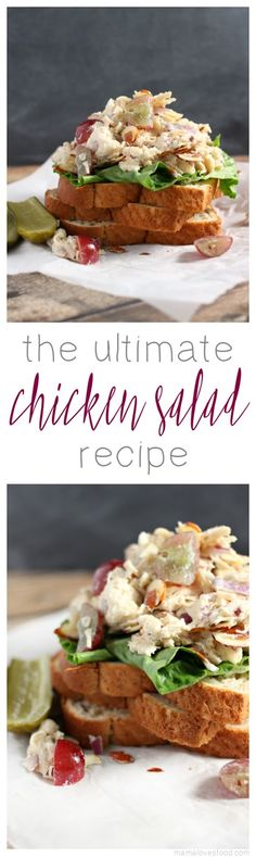 The Best Chicken Salad Recipe - Fresh and Fruity Chicken Salad Recipe