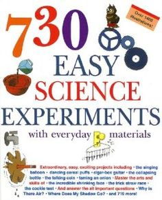 730 Easy Science Experiments: With Everyday Materials: E. Richard Churchill, Louis V. Loesching, Muriel Mandell: 9781579126131: Amazon.com: Books www.bethelumc.info/beca.html