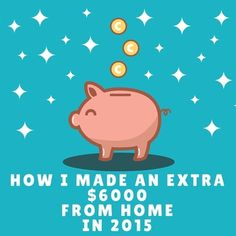 How a Canadian stay-at-home mom made over $6000 in extra cash from home