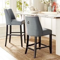 Corinne Linen Counter Amp Bar Stool In 2019 Home Makeover