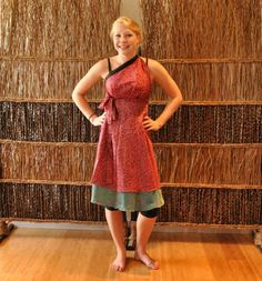 Magic Wrap Skirt Style Tutorial: Thai Princess Dress | Mexicali Blues Blog
