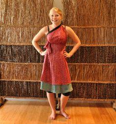 Magic Wrap Skirt Style Tutorial: Thai Princess Dress | Mexicali Blues Blog