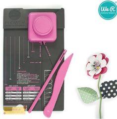 WeR Memory Keepers FLOWER Punch board, Stanz- und Falzbrett in Möbel &…