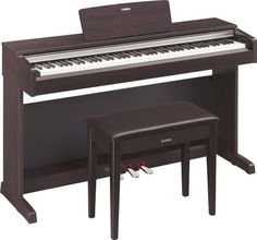 Yamaha YDP142R Arius Series Traditional Console Digital Piano with Bench - Dark Rosewood by Yamaha, http://www.amazon.com/dp/B00APF1PPE/ref=cm_sw_r_pi_dp_U66fsb05YC8Y9