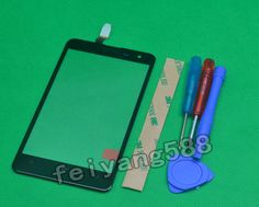 Noir Ecran Tactile Touch scree Digitizer Glass Pour Nokia Lumia 625 + Outils