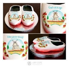 a pair of clogs  Cake by Scrumptiousjo