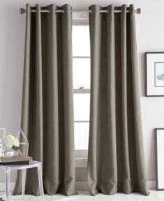 Dkny Avenue 50 X 84 Jacquard Grommet Curtain Panel Reviews Curtains Drapes Macy S Grommet Curtains