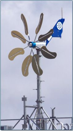 wind turbine for off-the-grid energy.