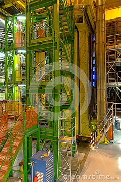 Photo about Buildings in CERN , LHCb detector experiment . Image of geneva, nobel, hadron - 58445072 Cern Geneve, Geneva Switzerland, Editorial Photography, Experiment, Buildings, Fair Grounds, Fun, Travel, Image