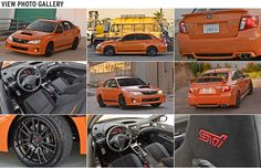 2013 Subaru WRX STI and WRX Special Editions Photo Gallery- With its shocking Tangerine orange color only 100 WRX STI models will be brought to the states 2013 Wrx, Wrx Sti, Subaru Impreza, New Model, Nice Things, Orange Color, Photo Galleries, Automobile, Models