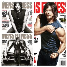Thank you Men's Fitness and Norman Reedus (Instagram)!! For this beautiful man ❤️