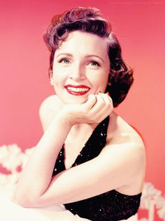 Betty White publicity photo for television show Date with the Angels 1957