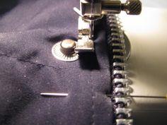Replace a zipper