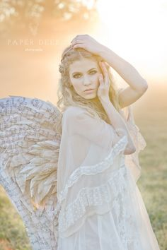 fallen angel ©{the} Paper Deer Photography Little Girl Games, Games For Girls, Deer Photography, Lifestyle Photography, Three Nails Photography, Heaven And Hell, Angel Art, Woodland Creatures, Faeries
