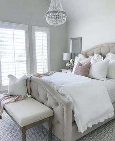 Small Guest Rooms, Small Room Bedroom, Master Bedroom Design, Home Decor Bedroom, Modern Bedroom, Bedroom Furniture, Contemporary Bedroom, Bed Room, Master Suite