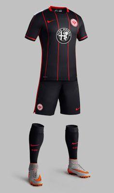 de3e29fdf Eintracht Frankfurt 2015 2016 Nike Home Football Kit