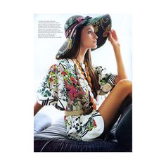 [ファッション誌] [VOGUE] [VOGUE BRASIL 2006年11月号] [Couture Tropical] [Daniel Klajmic] [Caroline Francischini] [画像] - FATAG -ファッションカタログ-