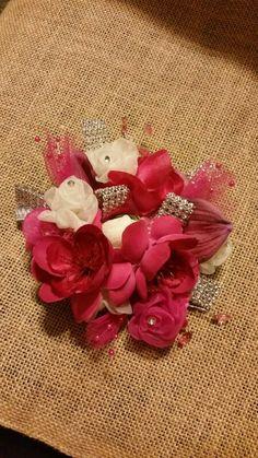 Fushia Prom Corage, Weddings & Events by Design