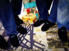 Vuonna 2012 joulupukki toi solitalaisille ihka omat Solitan mukaan stailatut Reinot!