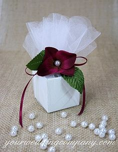 Pearl wedding favor accent - 8mm pearl beads - 360 per pack - http://www.yourweddingcompany.com