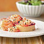 Smoky Shrimp and Parmesan-Polenta Cakes Recipe | MyRecipes.com