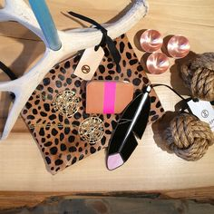 New items in stock - Clare Vivier handbags, nautical knots, penny copper bowls, and more.