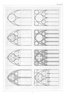Gothic Window Example Designs by kara