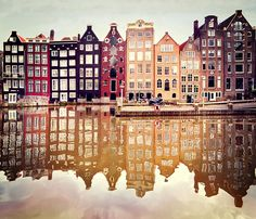 Amsterdam is famous for many other things besides these buildings. Amsterdam has always had liberal views on anything you can imagine. Places Around The World, Oh The Places You'll Go, Places To Travel, Places To Visit, Travel Destinations, Travel Tips, Travel Hacks, Travel Ideas, Beautiful World