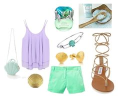 """""""Modern Ariel"""" by marshmallow788 ❤ liked on Polyvore featuring Joules, Steve Madden, Disney and modern"""
