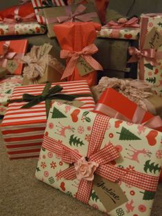 This years Christmas Gift wrapping