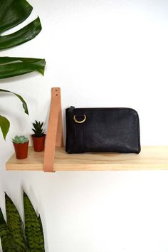 The Buffy Bot Small Wallet in Black