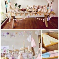 Boho-Themed Baby Shower