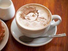 Nishinoya Yuu.... an Amazing coffee