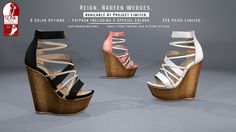 REIGN.- NADEEN WEDGES- PROJECT LIMITED | Flickr - Photo Sharing!