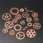 20pcs Vintage Steampunk Watch Clock Parts Gear Cogs Wheels Crafts Findings Lot-Decorative Hardware