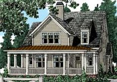 Home Plans and House Plans by Frank Betz Associates - Keeping room. No formal dining.