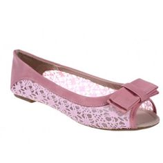 Balerini roz Kaila - Flats