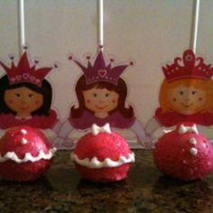 Princess Cake Pops!