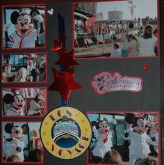 Disney Cruise - Scrapbook.com