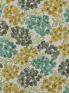 Recover the chair seats with a fresh print.  The colors in this floral would be gorgeous with your existing wall color.