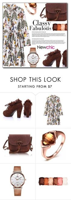 """Newchic *20"" by fashion-pol ❤ liked on Polyvore featuring NYX"
