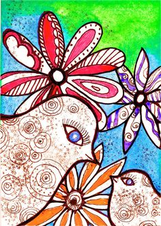 Robin Mead   WATERCOLOR and INK