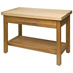@Overstock - The J.K. Adams Kitchen Island Work Center combines a handmade maple top with an elegant cherry wood base. The unique and functional top work surface has a gentle rim on three sides to prevent crumbs or other food items from rolling to the floor.http://www.overstock.com/Home-Garden/J.K.-Adams-48-inch-Kitchen-Work-Center/4859137/product.html?CID=214117 $1,861.00