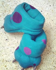 SULLY SLIPPERS SHOES Monsters Inc Baby / Kids / por ElPuntoFriky