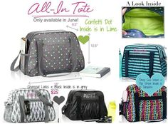 All In Tote, only available June 2015  www.mythirtyone.com/dorigoya