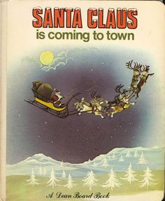 Santa Claus is coming to Town- Dean & Son- 1979- Board Book